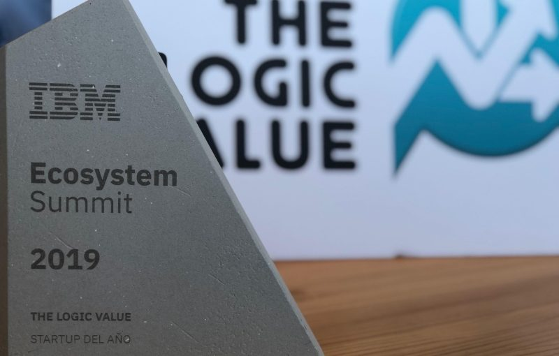Winners of the best startup prize at the IBM Ecosystems Summit 2019